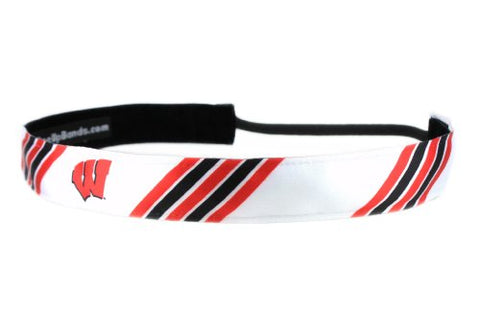 One Up Bands Women'S Ncaa University Of Wisconsin Stripes One Size Fits Most