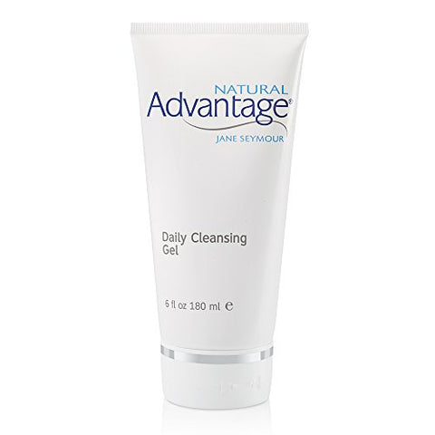 Daily Cleansing Gel  Gentle Hydrating Wash  Light Fragrance  90 Day Supply/6 Ounces  Natural Advantage By Jane Seymour