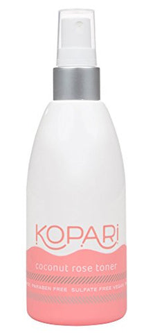 Kopari Coconut Rose Toner - Revitalize And Restore Skin + Calming Witch Hazel - Natural Astringent, Non Gmo, Vegan, Cruelty Free, Paraben Free And Sulfate Free, 5.1 Oz