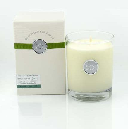 Soi Candles Eucalyptus Sage 13.5Oz Boxed Highball