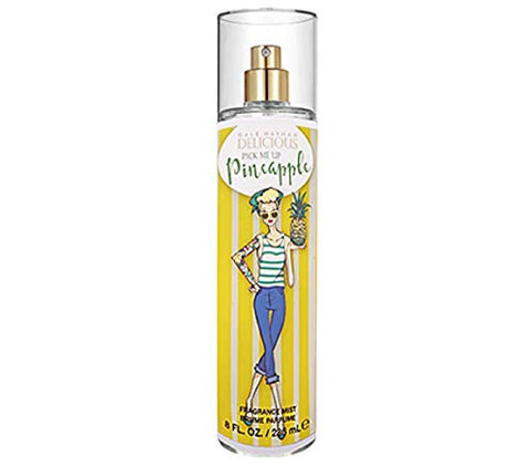 Gale Hayman Delicious For Women Body Spray, Pick Me Up Pineapple