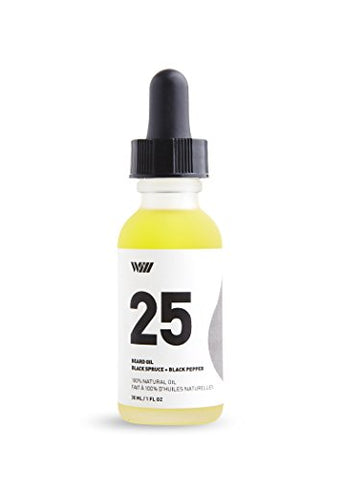 25 Black Spruce And Black Pepper Beard Oil