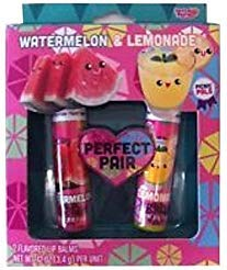 Foodies Perfect Pair 2 Lip Balms - Watermelon/Lemonade