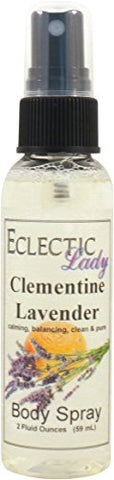 Clementine Lavender Body Spray, 2 Ounces