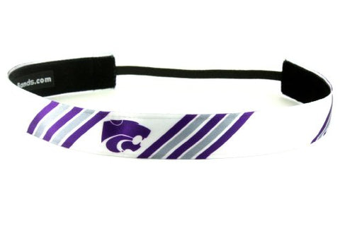 One Up Bands Women'S Ncaa Kansas State University Stripes One Size Fits Most