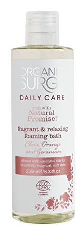 Organic Surge Spiced Lily Foaming Bath 250Ml By Organic Surge