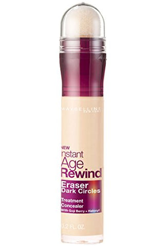 Maybelline Instant Age Rewind Eraser Dark Circles Treatment Concealer, Ivory, 0.2 Fl. Oz.