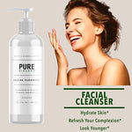 Premium Facial Cleanser With Hyaluronic Acid, Essential Oils &Amp; Breakthrough Anti Aging Complex - Face Wash Skin Care For Acne Breakouts, Blemishes, Wrinkle Reduction For Men &Amp; Women, All Skin Types