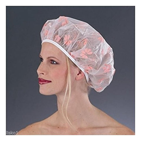 (Ship From Usa) Betty Dain #203-Ex Vinyl Bath Mate Shower Cap, X-Tra Large Size