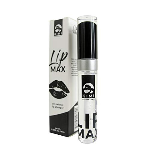 Lip Plumper For Fuller &Amp; Hydrated Lips By Kimi - Natural Lip Enhancer That Moisturizes &Amp; Eliminates Dryness