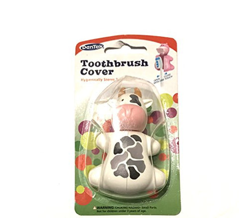 Adorable Cow Toothbrush Cover!