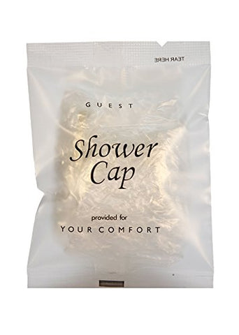 Shower Cap Frosted Sachet Wrap (Case Of 500)