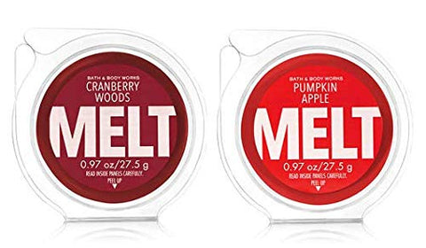 Bath And Body Works Fragrance Melt. 0.97 Oz / 27.5 G. Cranberry Woods &Amp; Pumpkin Apple