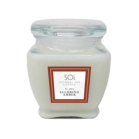 Soi Candles Amber Sandalwood 16Oz Jar Candle