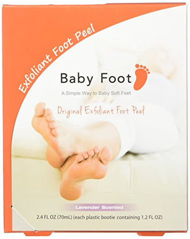 Baby Foot Exfoliant Foot Peel, Lavender Scented, 2.4 Fluid Ounce