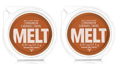 Bath And Body Works Cinnamon Caramel Swirl Fragrance Melt. 0.97 Oz / 27.5 G