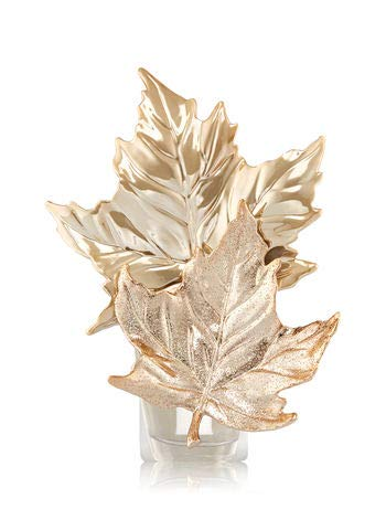 Bath And Body Works Gold Leaves Wallflowers Fragrance Plug