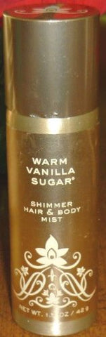 Bath And Body Works Warm Vanilla Sugar Hair &Amp; Body Mist