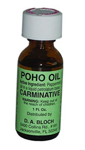 Poho Oil 1Oz, Asthma, Colds, Cough, Denture Sores, Diarrhea, Ear Ache, Flu, Hay Fever, Headache, 904 By Ahh! Products
