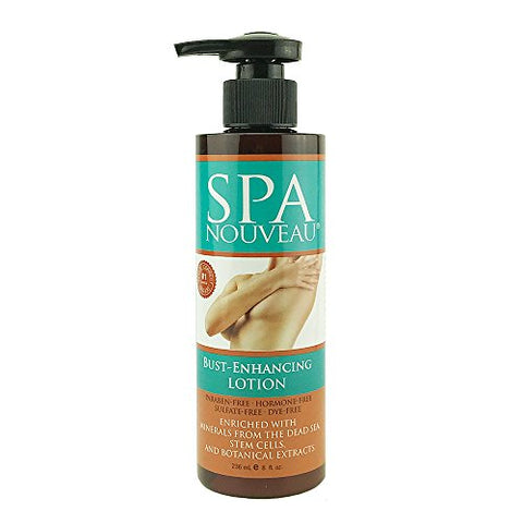 Spa Nouveau Bust Enhance Lotion, Paraben-Free, 10 Oz