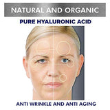Hyaluronic Acid Serum For Face-100% Pure Hyaluronic Acid Anti Aging Serum-Wrinkle And Despeckle Hyaluronic Acid- Moisture, Non-Greasy Face Moisturizer For Dry,Oily And Combination Skin