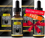 Premium Beard Growth Oil. Advanced Beard Leave-In Conditioner Softener And Moisturizer With Vitamin E. Fragrance Free. Made In Usa.