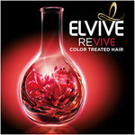 L'Oral Paris Elvive Color Vibrancy Protecting Conditioner, For Color Treated Hair, Conditioner With Linseed Elixir And Anti-Oxidants, For Anti-Fade, High Shine, And Color Protection, 28 Fl. Oz.