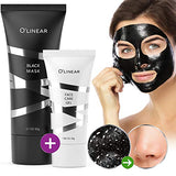 Black Charcoal Mask Blackhead Remover - Face Peel Off Mask With Natural Activated Organic Bamboo Charcoal - Deep Cleansing Pore Blackhead Removal - Purifying Face Mask &Amp; Face Care Gel For Women &Amp; Men