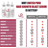 New Ultra-Premium Hair Growth Serum - 2Oz United Pure Award Winning Redensyl, Capixyl, Baicapil, Anagain, Hairspa, Orich-37, Pentavitin, Caffeine - Leave On Serum Helps Prevent Hair Loss All Day