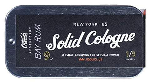 O'Douds - All Natural Solid Cologne (Bay Rum)