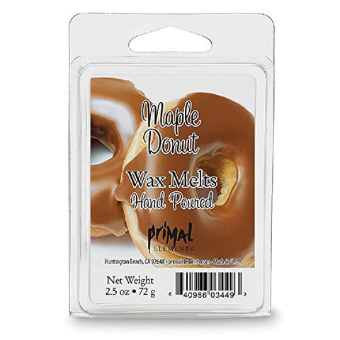 Primal Elements Wax Melt, Maple Donut, 2.5 Ounce