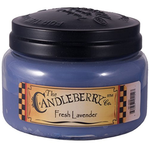 Candleberry Medium 10 0Z Jar Scented Candle - Fresh Lavender