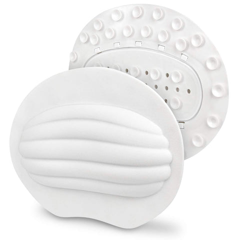 Bath Pillow Powerful Gripping Technology Luxury Bath Pillows For Tub - Neck, Head, Shoulder And Back Support - Machine Washable/Pvc Free/Antibacterial And Deodorant