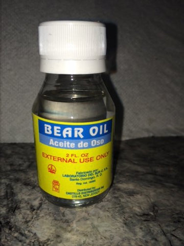 Bear Oil Aceite De Oso