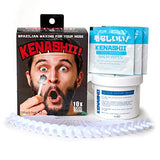 Nose Wax Kit, 100 G Wax, 24 Applicators. The Original &Amp; Best Nose Hair Removal Kit From Kenashii. Nose Waxing For Men &Amp; Women. 12 Applications, 12 Post Waxing Balm Wipes, 12 Mustache Guards.
