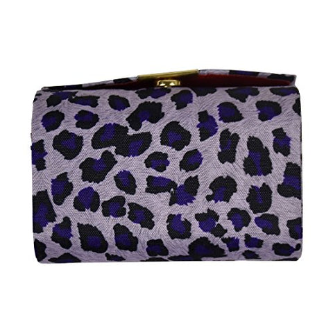 Double Lipstick Case Leopard Print - Purple