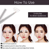 Qingya Eyebrow Stencil Shaper,32 Pairs Eyebrow Stencil Reusable Ruler Shaping Template With 4 Unique Styles Eyebrow Shaper Card For Diy Beauty,Eyebrow Grooming Stencil Kit Diy Tool