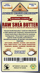 Organic Unrefined Raw African Ivory White Shea Butter 1 Lb (16 Oz) Block Best Price Highest Quality Bulk Grade A For Anti Aging, Base For Diy Body Butter, Beauty, Skin Moisturizer &Amp; Soap Making(Ghana)