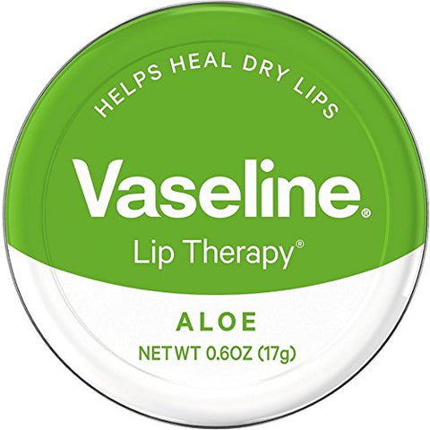 Vaseline Therapy Lip Balm, Aloe Vera 0.6 Oz