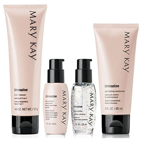 Mary Kay Timewise Anti-Aging Miracle Set - Combination To Oily Skin Authentic