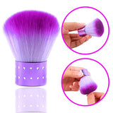 Angnya Nail Art Dust Clean Brush Soft Nail Cleaning Brush For Acrylic &Amp; Uv Nail Gel Dust Power Remover Cleaner Brush Nail Art Tools
