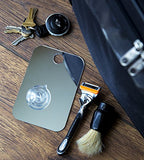 Shave Well Fog Free Travel Mirror - Unbreakable Portable Traveling Shaving Mirror