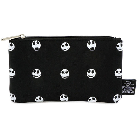 Loungefly Nightmare Before Christmas Jack Head Nylon Pouch