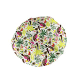 Betty Dain Fashionista Collection Mold Resistant Lined Shower Cap, Tropical