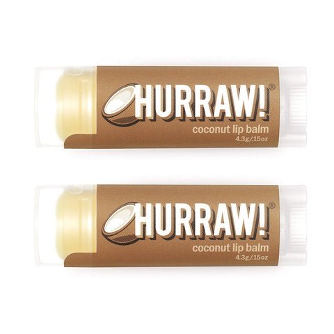 Hurraw Coconut Lip Balm,