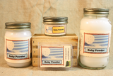 Baby Scented Candle, Baby Scented Wax Tarts, 26 oz, 12 oz, 4 oz Jar Candles or 3.5 Clam Shell Wax Melts - Country Rich Creations, LLC