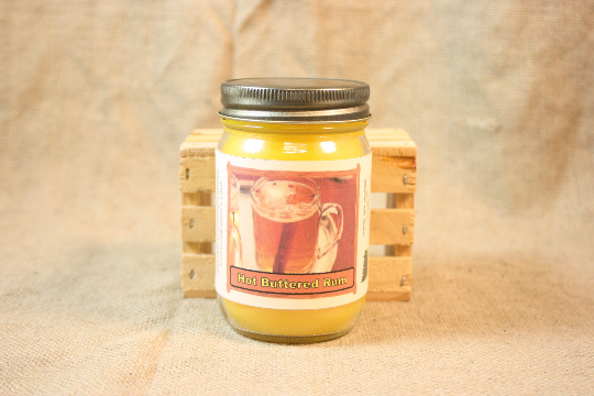 Hot Butter Rum Scented Candle Hot Butter Rum Scented Wax Tarts 26 Oz Country Rich Creations Llc