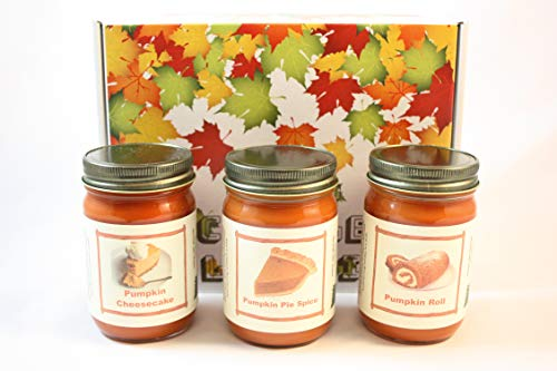 Fall Scented Candle Collection Set,