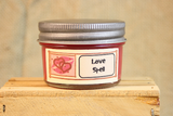 Love Spell Scented Candle and Wax Melts, Highly Scented Wax Tarts, 26 oz, 12 oz, 4 oz Jar Candles or 3.5 Clam Shell Wax Melts - Country Rich Creations, LLC