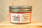 Trick or Treat Scented Candle, Trick or Treat Scented Wax Tarts, 26 oz, 12 oz, 4 oz Jar Candles or 3.5 Clam Shell Wax Melts - Country Rich Creations, LLC